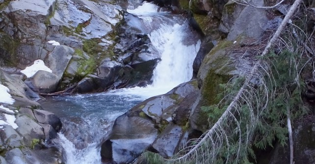 Thanksgiving Day Hike on the way to Comet Falls Near Mt. Rainier and an Understanding of True Gratitude by Kat Carroll