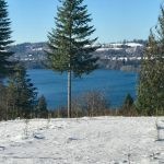 Lake Mayfield from Adytum Lands in Snow